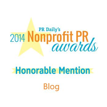 nonprofit PR award