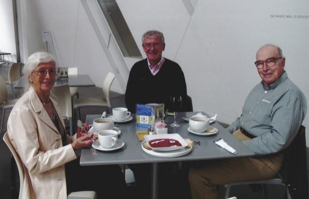 (L-R) Lois Stephenson, Lance Reynolds, Lynn Stephenson